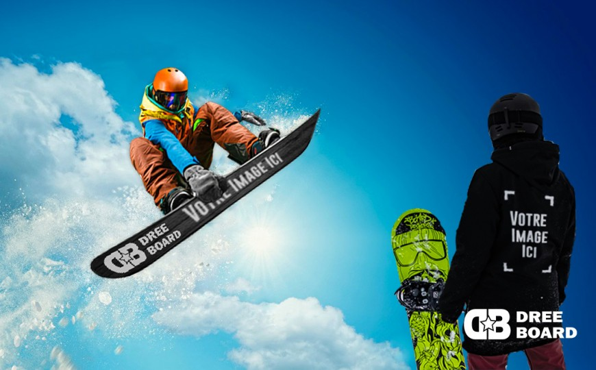 Snowboard production for professionals and associations